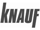 Knauf logo zwart wit